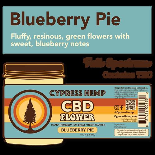 Blueberry Pie CBD Hemp Flower
