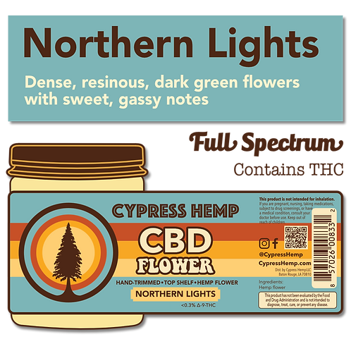 Northern Lights CBD Hemp Flower
