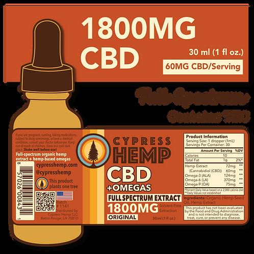 Full Spectrum 1800mg CBD+OMEGAS™