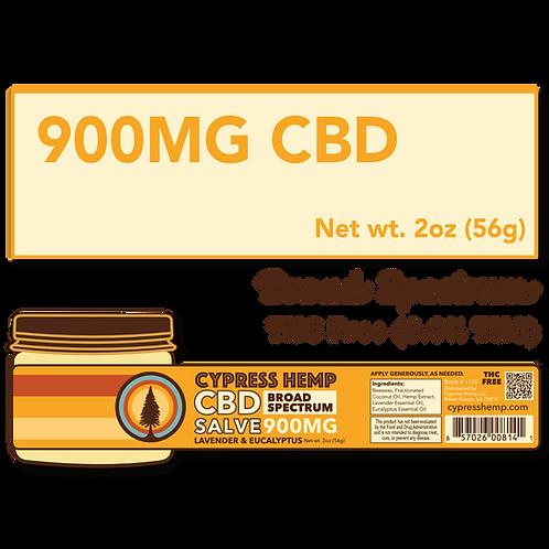 Extra Strength 900mg CBD Lavender and Eucalyptus Salve