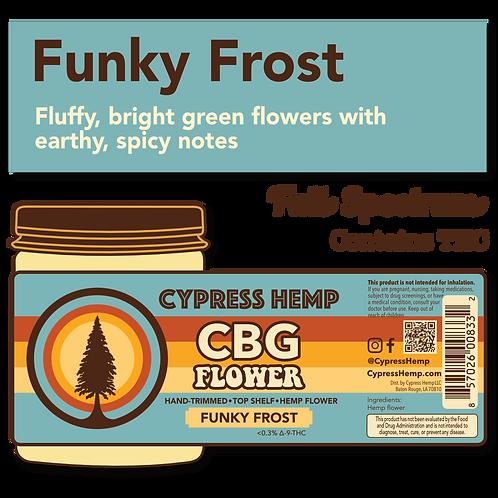 Funky Frost CBG Hemp Flower