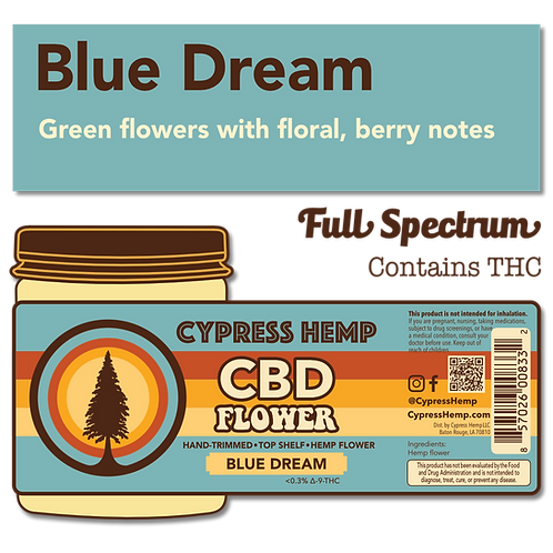 Blue Dream CBD Hemp Flower