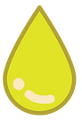 hemp oil droplet