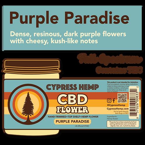 Purple Paradise CBD Hemp Flower