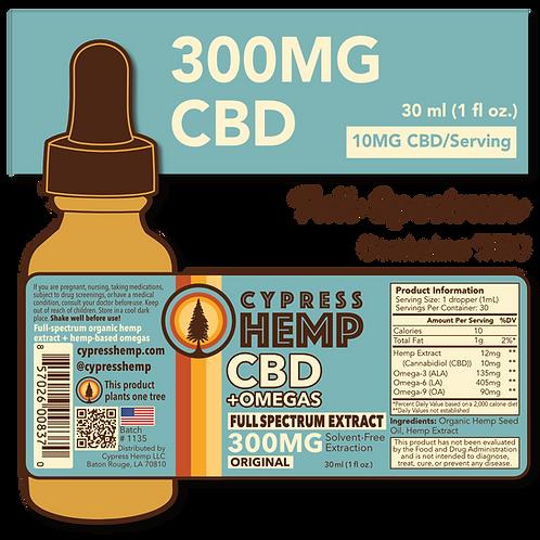 Full Spectrum 300mg CBD+OMEGAS™