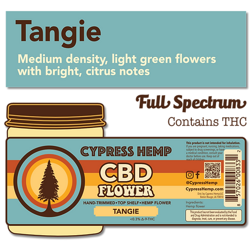 Tangie CBD Hemp Flower