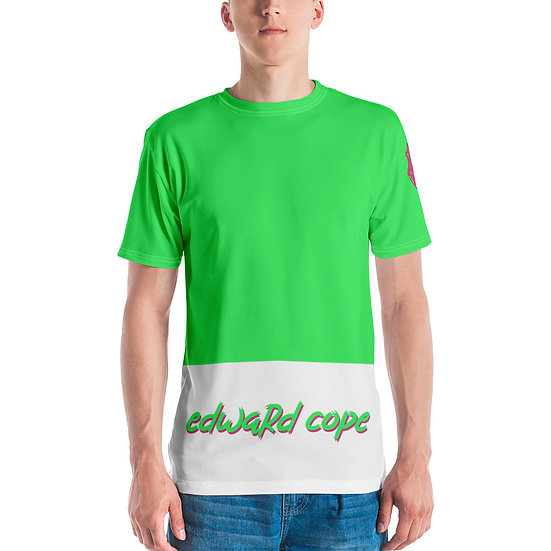 Edward Cope Script Bold Discoveries (Neon Green & Pink)