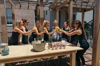 Bride+Tribe+Yoga+Bachelorette+Party+Yoga