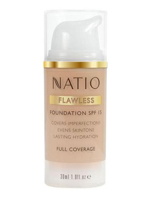 Natio Flawless Foundation SPF 15