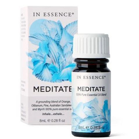 In Essence Meditate Pure Essential Oil Blend 8ml