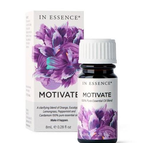 In Essence Motivate Pure Essential Oil Blend 8ml