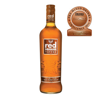 Red Square Toffee Caramel
