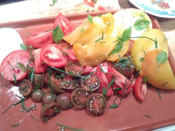 Dernières tomates de la saison