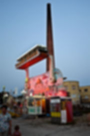 Aladin'sdream.jpg oeuvre artistique couleur numérique Luna Park ventes tirages d'art audacieuse galerie genève suisse danièle verjus toulouse france