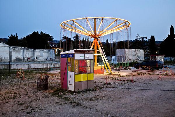 Magiccall.jpg oeuvre artistique couleur numérique Luna Park ventes tirages d'art audacieuse galerie genève suisse danièle verjus toulouse france
