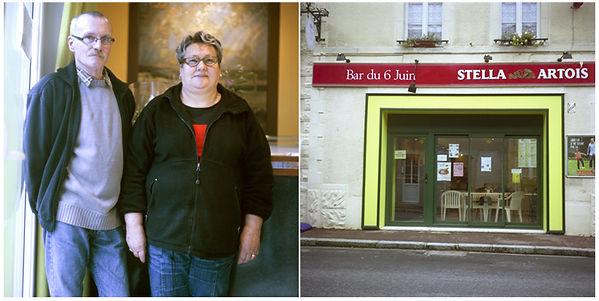 oeuvres artistiques photographies argentiques couleur vieux cafés ventes tirages d'art danièle verjus toulouse france