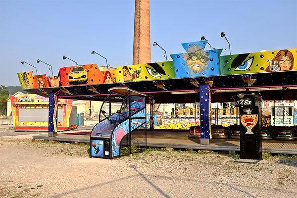 Angel'seyes.jpg oeuvre artistique couleur numérique Luna Park ventes tirages d'art audacieuse galerie genève suisse danièle verjus toulouse france