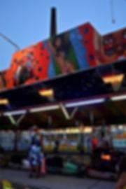 Ladies.jpg oeuvre artistique couleur numérique Luna Park ventes tirages d'art audacieuse galerie genève suisse danièle verjus toulouse france