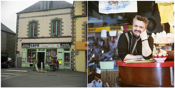 oeuvres artistiques photographies couleur argentiques vieux cafés ventes tirages d'art danièle verjus toulouse france