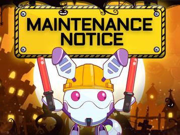 27 Oct Maintenance Notice