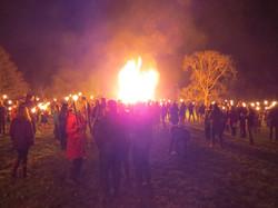 Bonfire Christmas Eve 2016