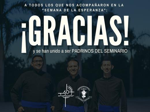 ¡Gracias por ser parte de la Semana De La Esperanza!