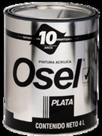 1200 - Pintura Emulsionada Mate Osel Plata