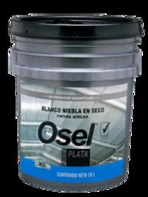 3835 - Esmalte Blanco Niebla En Seco Base Agua Osel Plata
