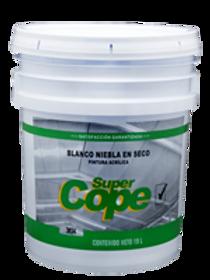 3834 - Esmalte Blanco Niebla en Seco Base Agua Super Cope