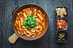 stir fried korean spicy rice cakes