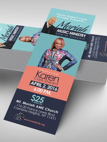 Custom Event Ticket Design