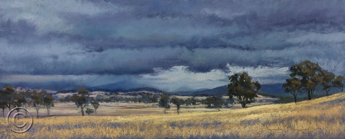 Storm over the Brindabellas