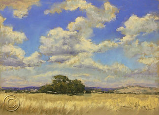 Summer Cloudscape, Hall