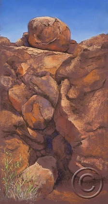Kiwirrkurra Rocks. W.A.