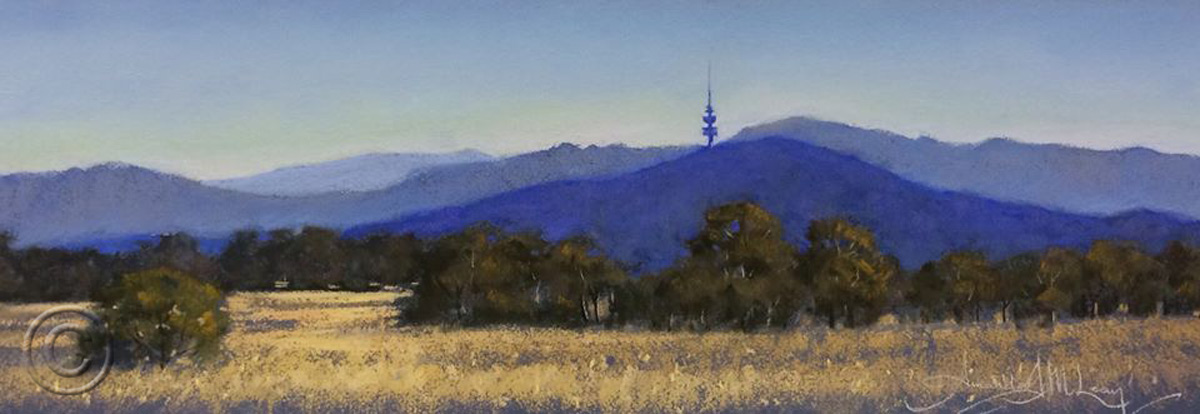 Afternoon Light, Black Mountain SOLD