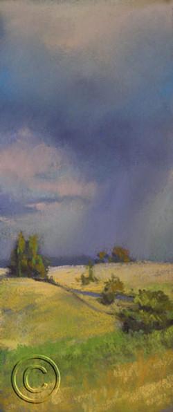 Storm Along the Barton Highway
