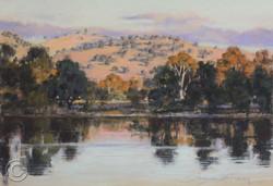 Evening Murray River