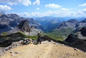 Vtt enduro Mont Thabor