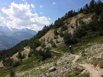 Vtt all mountain Serre Chevalier Briancon