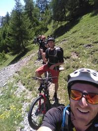 Vtt Enduro Hautes alpes Serre Chevalier