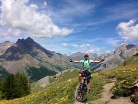 Vtt all mountain Serre Chevalier