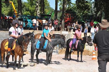 Leçon équitation enfant Brive Tulle Saint Mexant