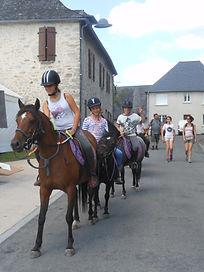 Equitation enfant leçon galop Brive TUlle