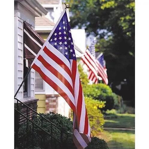 U.S. Flag & Pole Set