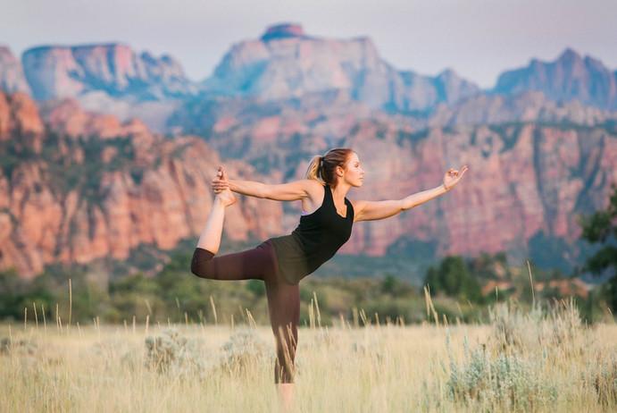 Zion National Park Yoga