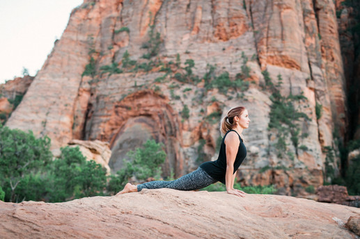 Zion Arch Yoga