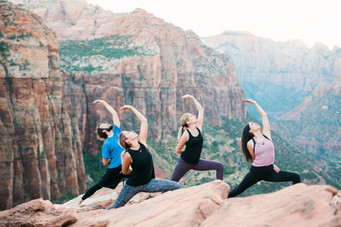 Zion Yoga at Zion Overlook