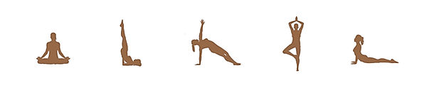 yoga positions clipart