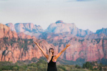 yoga in zion