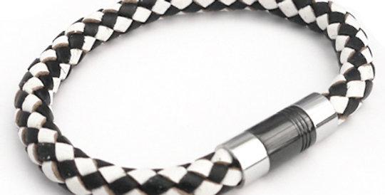 Black & White Harlequin Bracelet
